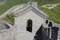A tower on the Great Wall (China) Royalty Free Stock Photography