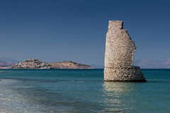Tower in Greece Royalty Free Stock Photo