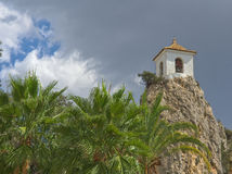 Tower of Guadalest Stock Image