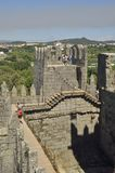 Tower  Guimaraes castle Royalty Free Stock Image