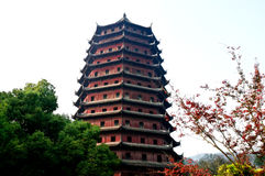 Tower of Hangzhou Royalty Free Stock Photos