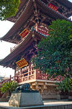 Tower in Hanshan temple, Suzhou, China Stock Photography