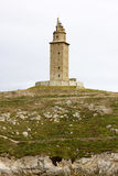 Tower of Hercules. Stock Images