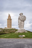The Tower of Hercules Stock Photography
