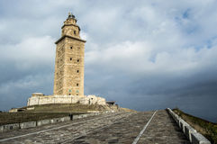 Tower of Hercules Stock Images