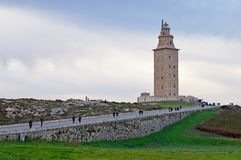 Tower of Hercules Royalty Free Stock Photography