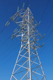 Tower of a high voltage line Stock Images