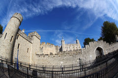 The Tower Hill Castle in London Royalty Free Stock Photo