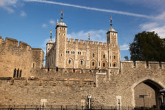 The Tower Hill Castle in London Royalty Free Stock Photos