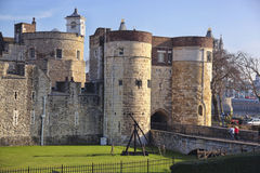 The Tower Hill Castle in London Stock Photography