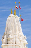 Tower at Hindu temple in Atlanta, GA Royalty Free Stock Photography