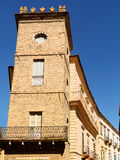 Tower in historic center of Chieti (Italy) Stock Image