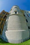Tower of Hluboka nad Vltavou castle Stock Image