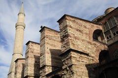 Tower of holy Sophia church. Turkey Stock Photos