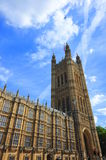 Tower of the House of Parliament, London Stock Image