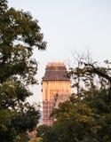 Tower at Huis Ten Bosch in Japan. royalty free stock photos
