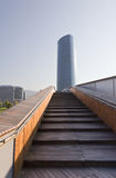 Tower Iberdrola in Bilbao Stock Photography