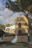Tower in Ibiza, Cala Vadella Stock Photo
