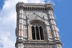 Tower of the il Duomo Florence Cathedral. Royalty Free Stock Photo