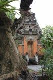 Tower inside Puri Saren Ubud Royalty Free Stock Photos