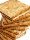 Tower of integral crackers Stock Images