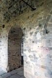 tower internals in eastern Jinshanling Great Wall Royalty Free Stock Image