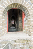tower internals in eastern Jinshanling Great Wall Royalty Free Stock Images