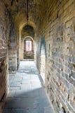 tower internals in eastern Jinshanling Great Wall Stock Image