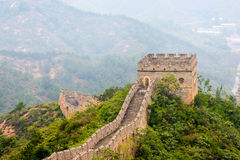 tower internals in eastern Jinshanling Great Wall Stock Photo