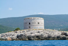 The tower on the island Stock Image