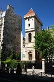Tower Jean Sans Peur Royalty Free Stock Photo