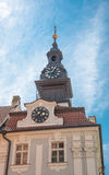 Tower of the Jewish Town Hall - Prague Royalty Free Stock Image