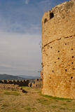 Tower at Jimena castle Stock Images