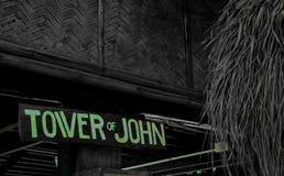 Tower of John stock image