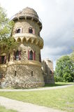 Tower of John´s castle in Lednice/Valtice region, Czech republic Royalty Free Stock Image