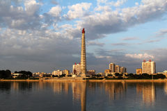 Tower of Juche Idea Royalty Free Stock Photography