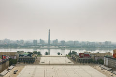 Tower of the Juche Idea Royalty Free Stock Photo
