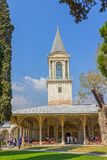 The Tower of Justice in Topkapi Palace, Istanbul Stock Images