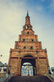 Tower. Kazan attractions on sky background Stock Photo