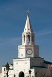 Tower of the Kazan Kremlin. Tower with the clock in the Kazan Kremlin Royalty Free Stock Photography