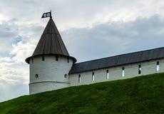 The tower of the Kazan Kremlin Stock Images