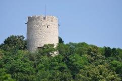 Tower in Kazimierz. Odl castle tower in Kazimierz Dolny, Poland Stock Photography