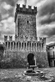 Tower of the keep Stock Images