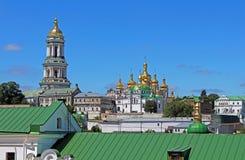 Tower and Kiev Pechersk Lavra monastery, Kyiv, Ukraine Royalty Free Stock Photography