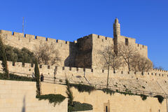 The Tower of King David Stock Photo
