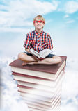 The tower of knowledge, education concept Royalty Free Stock Image