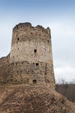 Tower of Koporye Fortress, Russia Stock Image