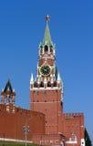 Tower of Kremlin. The Spasskaya Tower (Kremlin in Moscow Stock Photography