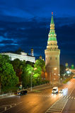 Tower Kremlin and road Stock Photo