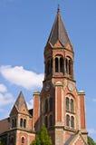 Tower of Kreuzeskirche Stock Image
